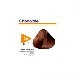 رنگ مو بدون آمونیاک بلوند شکلاتی متوسط ویتامول
