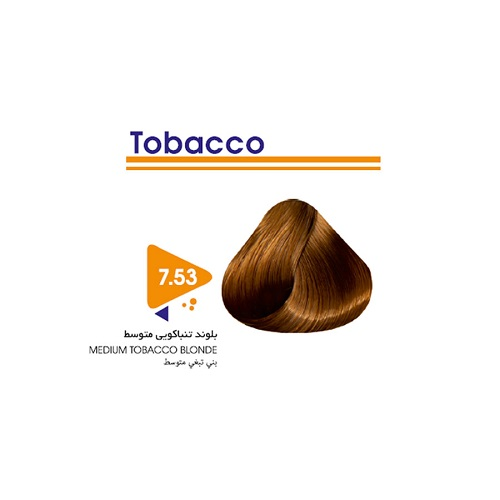 رنگ مو بلوند تنباکویی متوسط ویتامول