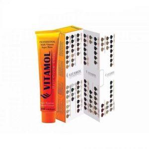 رنگ مو بلوند زیتونی متوسط ویتامول شماره 3-7