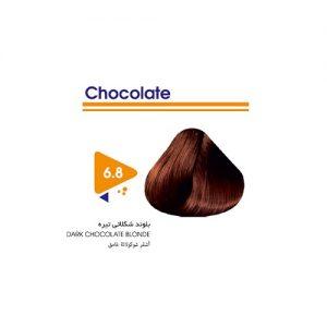 رنگ مو بلوند شکلاتی تیره ویتامول