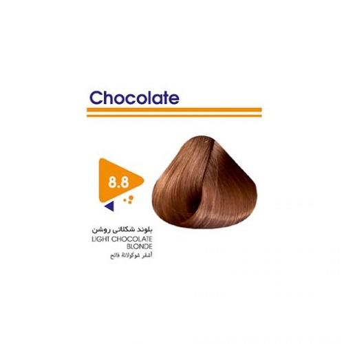 رنگ مو بلوند شکلاتی روشن ویتامول