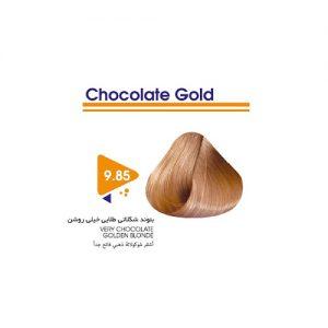 رنگ مو بلوند شکلاتی طلایی خیلی روشن ویتامول