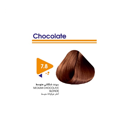 رنگ مو بلوند شکلاتی متوسط ویتامول
