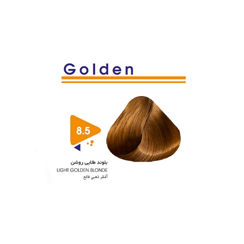 رنگ مو بلوند طلایی روشن ویتامول