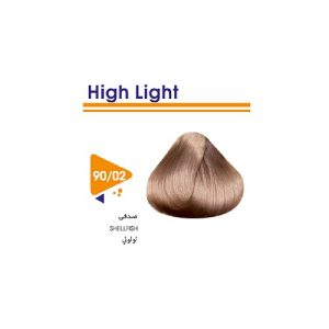 رنگ مو طبیعی صدفی ویتامول