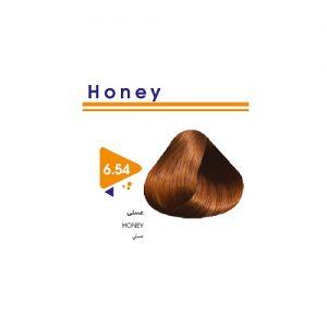 رنگ مو عسلی ویتامول