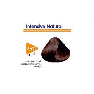 رنگ مو قهوه ای روشن قوی ویتامول
