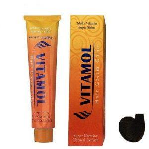 رنگ مو گیاهی مردانه مشکی ویتامول