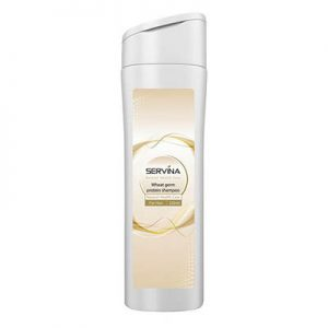شامپو جوانه گندم سروینا Servina Protein Wheat Germ Shampoo For All Hair Types 220 ml