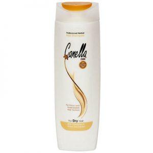 شامپو گیاهی مخصوص مو های خشک کنلامکس Canella Max Herbal Shampoo For Dry Hair 430 ml