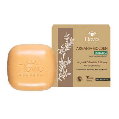 صابون آرگان طلایی فلویو Flovio Argania Golden Soap 100 gr