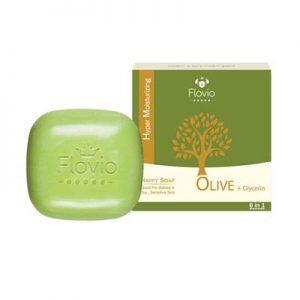 صابون 6 کاره زیتون فلویو فوق مرطوب کننده Flovio 6 Task Olive Soap 100 gr