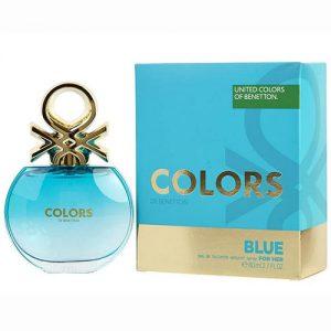 ادکلن زنانه بنتون مدل Colors de Benetton Blue حجم 80mL