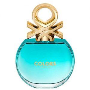 عطر و ادکلن (ادو تویلت) زنانه بنتون مدل کالرز دی بنتن بلو Benetton Colors de Benetton Blue Eau De Toilette for Women 80ml