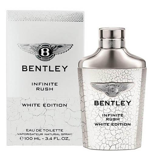 عطر و ادکلن ( ادو تویلت) مردانه بنتلی مدل اینفینیت وایت ادیشن Bentley Infinite Rush White Edition Eau De Toilette For Men 100ml