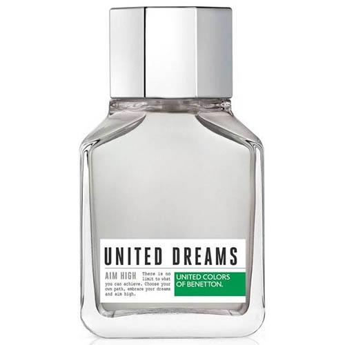 عطر و ادکلن ( ادو تویلت) مردانه بنتون مدل یونایتد دریمز من ایم های Benetton United Dreams Men Aim High Eau De Toilette for Men 100 ml