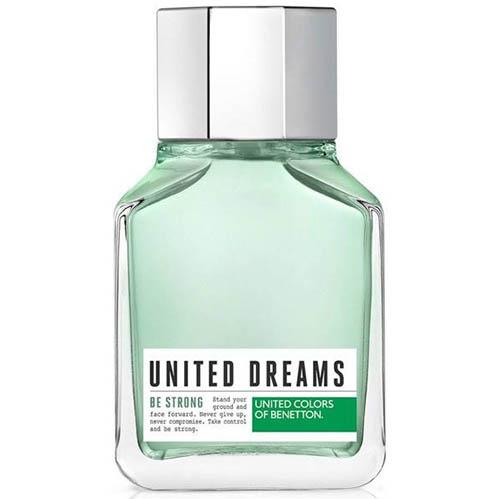 عطر و ادکلن ( ادو تویلت) مردانه بنتون مدل یونایتد دریمز من بی استرانگ Benetton United Dreams Men Be Strong Eau De Toilette for Men 100 ml