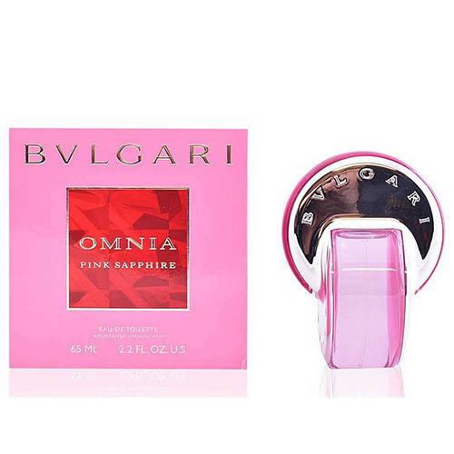 عطر و ادکلن (ادو تویلت) مردانه بولگاری مدل اومنیا پینک سفیر Bvlgari Omnia Pink Sapphire Eau De Toilette For Women 65 ml