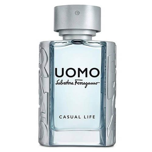 عطر و ادکلن ( ادو تویلت) مردانه سالواتوره فراگامو مدل اومو کژوال لایف Salvatore Ferragamo Uomo Casual Life Eau De Toilette For Men 100 ml