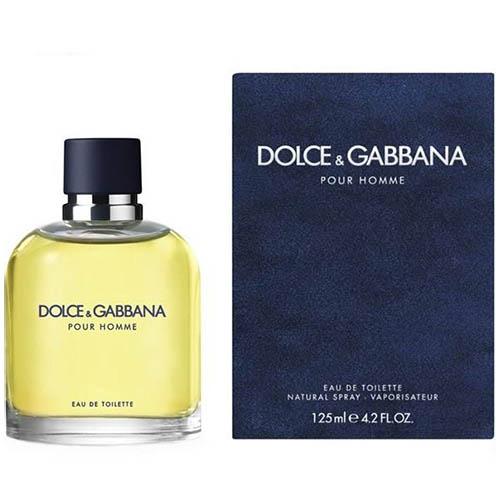 عطر و ادکلن (دی اند جی D&G) مردانه دولچه اند گابانا مدل پورهوم Dolce And Gabbana Pour Homme Eau De Toilette For Men 125 ml