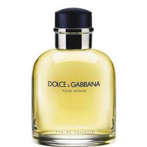 عطر و ادکلن (دی اند جی D&G) مردانه دولچه اند گابانا مدل پورهوم Dolce And Gabbana Pour Homme Eau De Toilette For Men 125ml