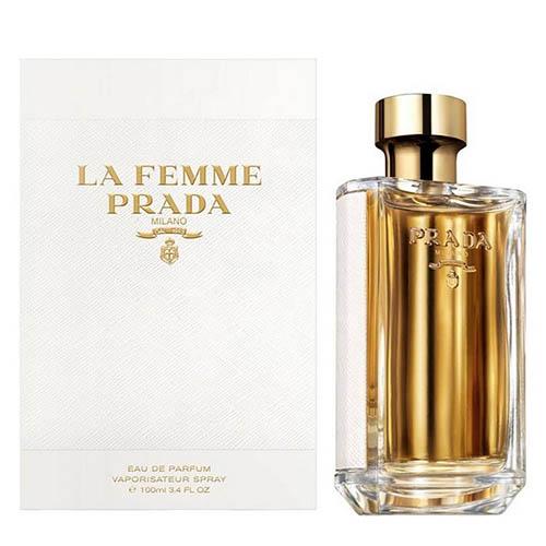 عطر و ادکلن زنانه پرادا مدل لا فمه ادو پرفیوم Prada La Femme Eau De Parfum for Women 80ml