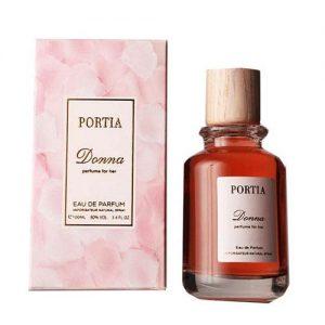 عطر و ادکلن زنانه پورتیا مدل دنا (دونا) Portia Donna Eau De Parfum For Women 100ml