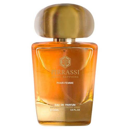 عطر و ادکلن زنانه پیراسی مدل وایت سافایر Pirrassi WHITE SAPPHIRE Eau De Parfum For Women 100ml