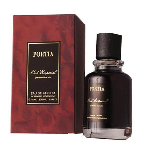 عطر و ادکلن مردانه پورتیا مدل اود امپریا Portia Oud Emperia Eau De Parfum For Men 100ml