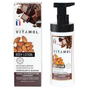 لوسیون بدن مدل chocolate & almond ویتامول