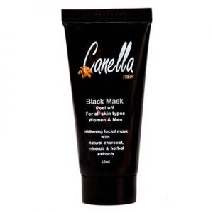 ماسک زغالی کنلامکس (بلک ماسک) Canella Max Peel Off Mask Extract For All Skin Types 60 ml