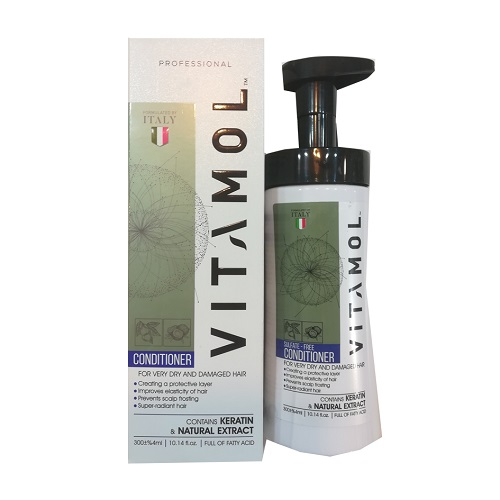 نرم کننده مو ویتامول مدل موهای خشک و آسیب دیده
