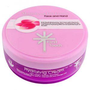 ژل کرم کاسه ای مرطوب کننده فرست تاچ Moisturizing Gel Hand and Face Cream 150 ml