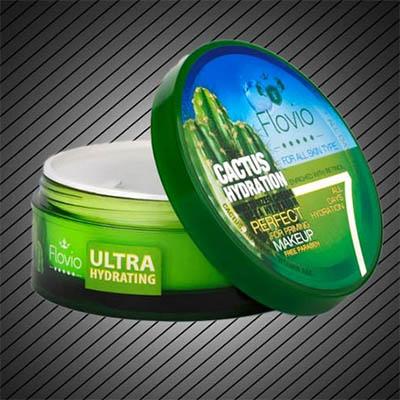 کرم آبرسان قوی پوست فلویو فلوویو Flovio Cactus Hydration Moisturizing Cream (Mega Hydrator) 120 gr