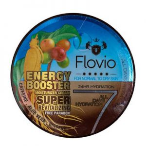 کرم بازسازی و احیاکننده فلویو Flovio Energy Booster Moisturizing Cream Super Revitalizing 120 ml