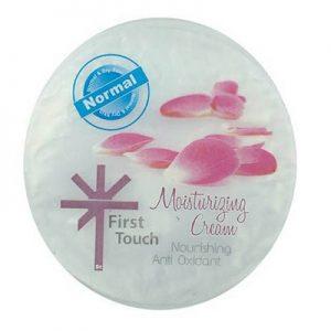 کرم مرطوب کننده دست فرست تاچ حاوی ویتامین E و B5 Moisturizing Hand and Face Cream Normal and Dry Skin 150 ml