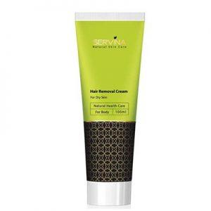 کرم مو بر بدن سروینا مخصوص پوست خشک Servina Hair Remover Cream For Dry Skins 100 ml