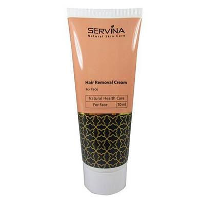 کرم مو بر صورت سروینا چهره Servina Hair Removal Cream For Face 100 ml