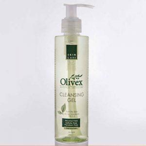 کرم پاک کننده و شستشو دهنده صورت الیوکس پوست چرب Olivex Cleaning Gel For Oily Skin 200 ml