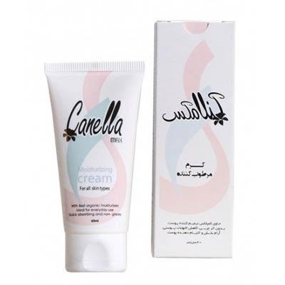 کرم گیاهی مرطوب کننده مناسب انواع پوست کنلامکس Canella Max Herbal Moisturizing Cream For all skin Types 60