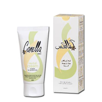 کرم گیاهی موثر در بهبود اگزما و خشکی پوست کنلامکس Canella Max Herbal suitable for Sensative Skin & Eczema 60