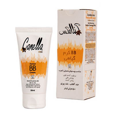 BB کرم گیاهی SPF 30 کنلامکس Canella Max Herbal BB Cream 50 میل