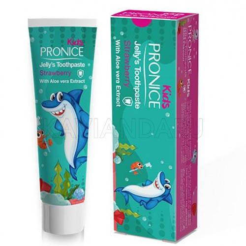 خمیردندان ژلهای کودک پرونایس (پرونیس) با طعم توت فرنگی Pronice Child Jelly Strawberry toothpaste 15gr