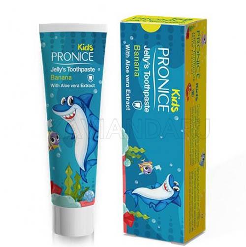 خمیردندان ژلهای کودک پرونایس (پرونیس) با طعم موز Pronice Child Jelly Banana toothpaste 15gr