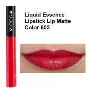 رژ لب مایع مات ویپرا مدل Essence شماره 603