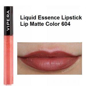 رژ لب مایع مات ویپرا مدل Essence شماره 604