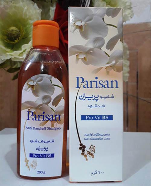 شامپو عسل ضد شوره پریزن مدل داندروف (پاریسان) Parisan Honey Anti-Dandruff Shampoo 200 gr