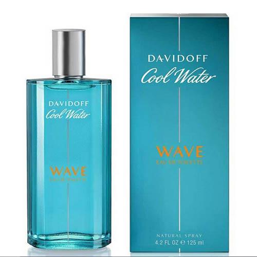 عطر و ادکلن (ادو تویلت) مردانه دیویدوف (داویدف ) مدل کول واتر ویو Davidoff Cool Water Wave Eau De Toilette For Men 125 ml