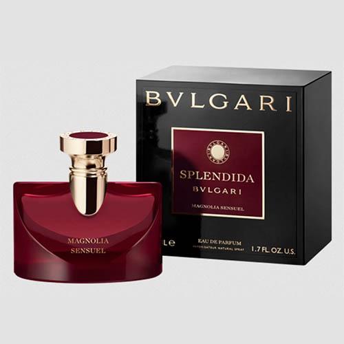عطر و ادکلن (ادو پرفیوم) زنانه بولگاری مدل اسپلندیدا مگنولیا سنشوال Bvlgari Splendida Magnolia Sensuel Eau De Parfum For Women 100ml