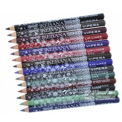 مداد چشم ویپرا مدل ایکیبانا اصلی Vipera Ikebana Eye Pencil